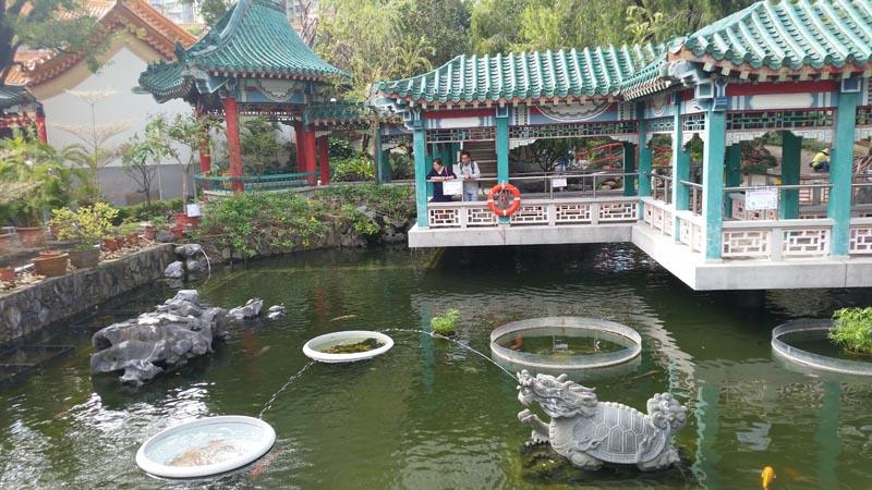 黄大仙の庭